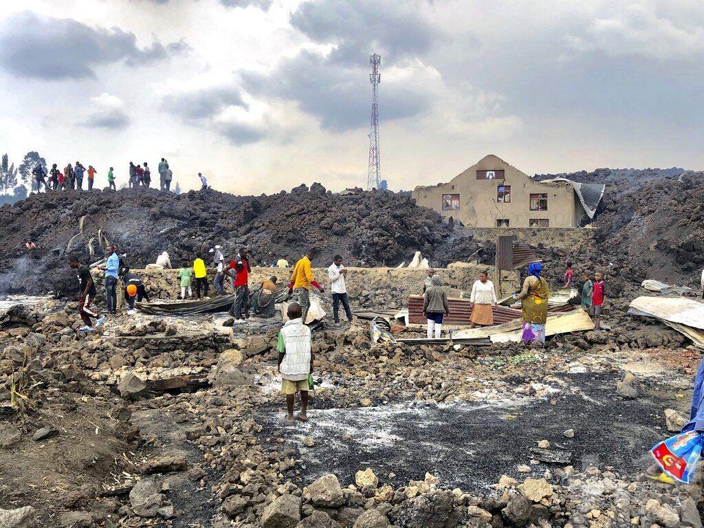 民主剛果火山爆發已致15人死亡