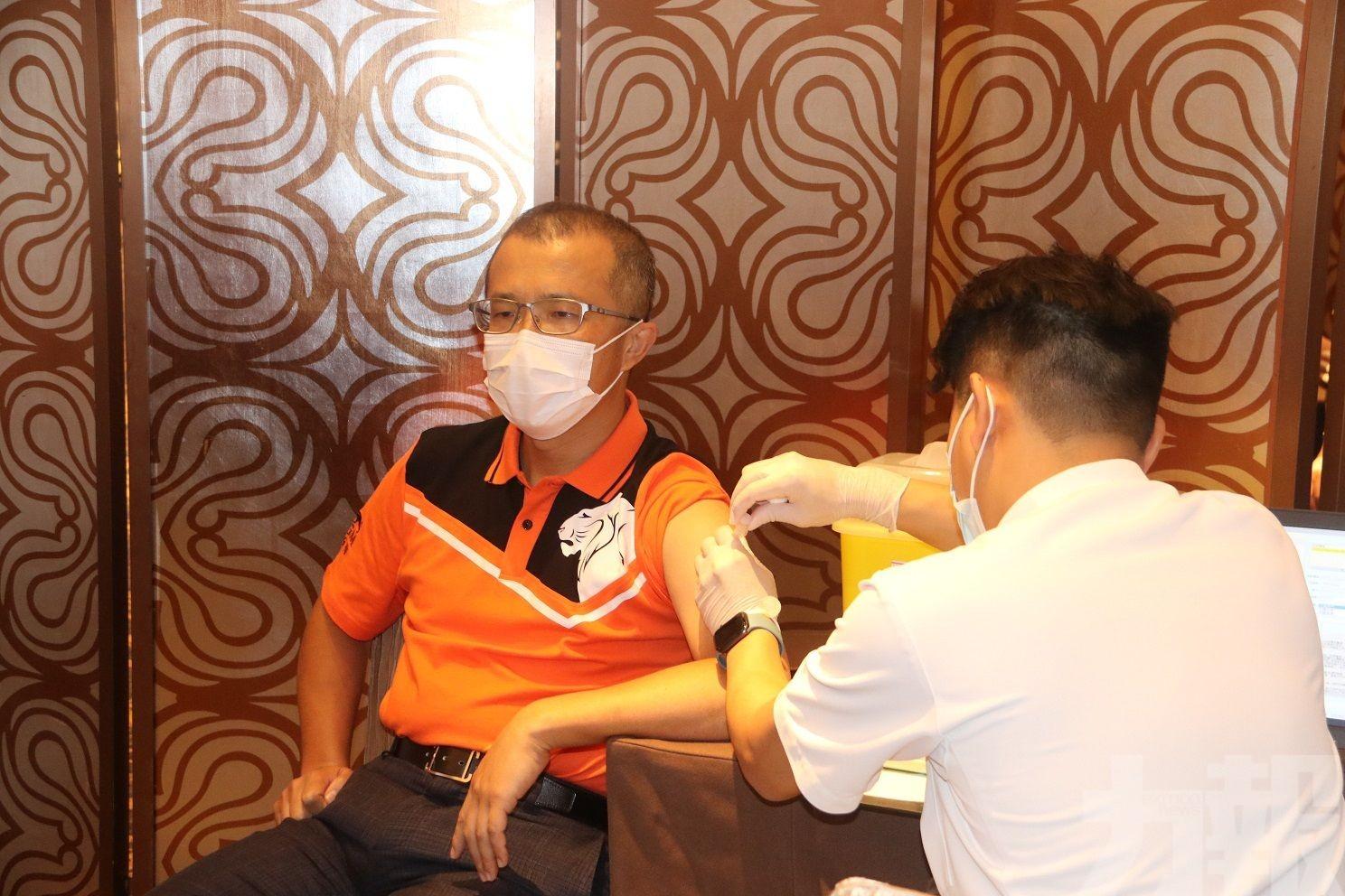 1,200名員工預約疫苗接種