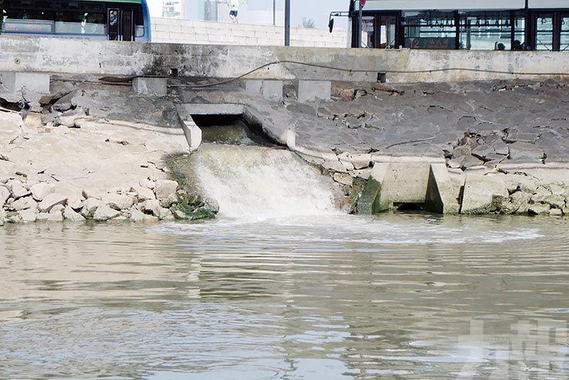 當局續推動下水道整治及污水處理