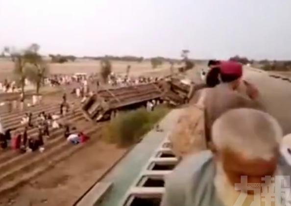 巴基斯坦火車相撞 至少30人死亡