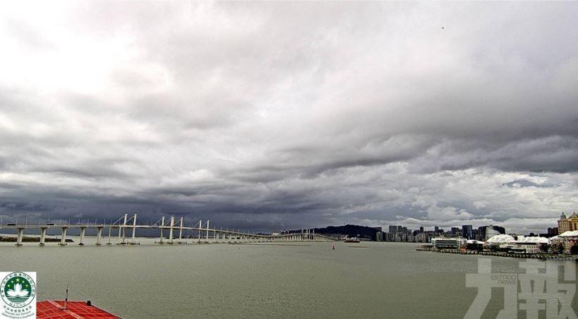 氣象局:未來1小時將有雷雨區影響本澳