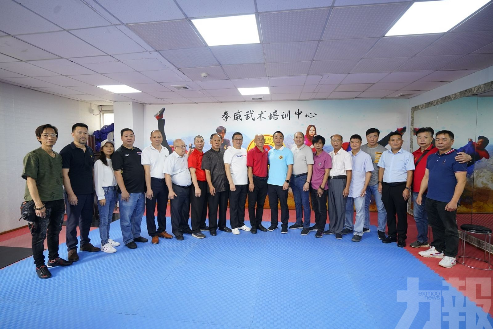拳威武術培訓中心喬遷革新