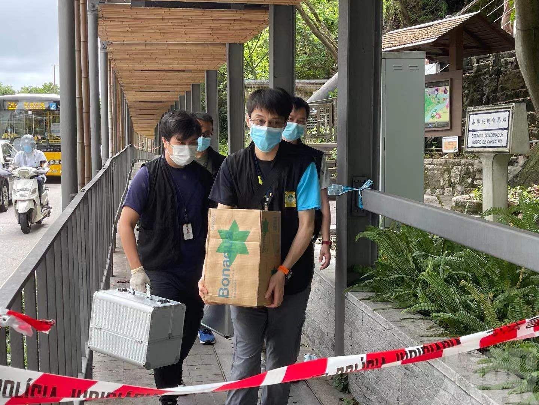 肢體案附近仍圍封 多位警員到場戒備