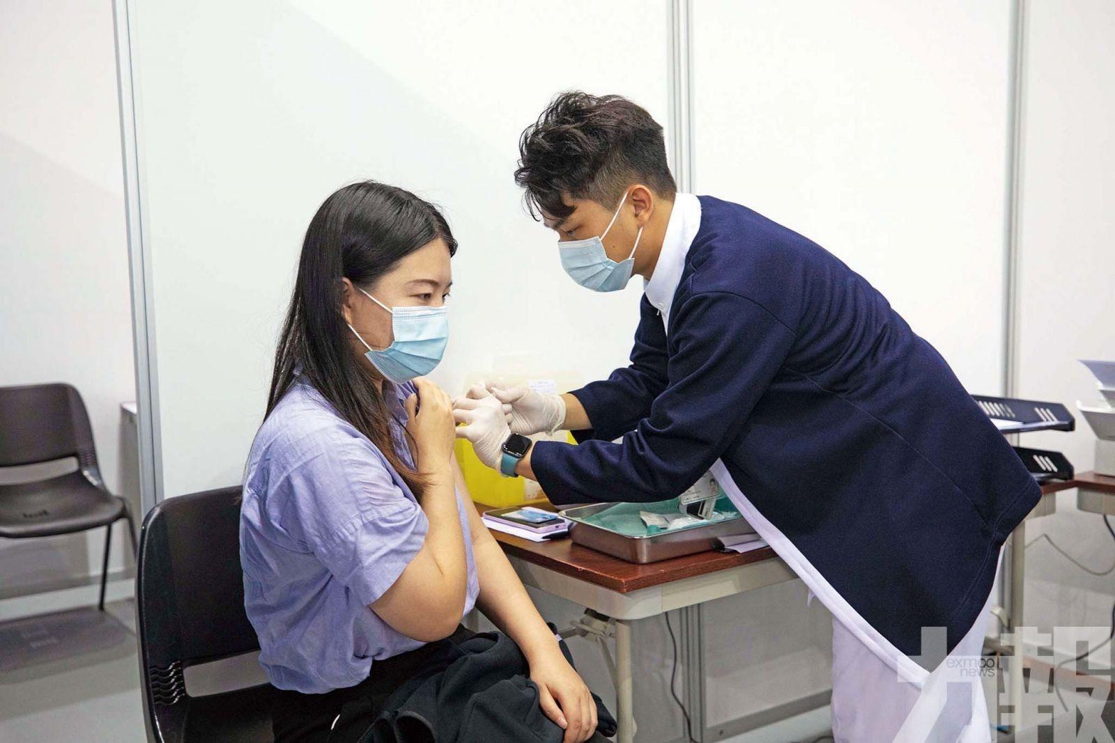 逾 17萬人已接種新冠疫苗