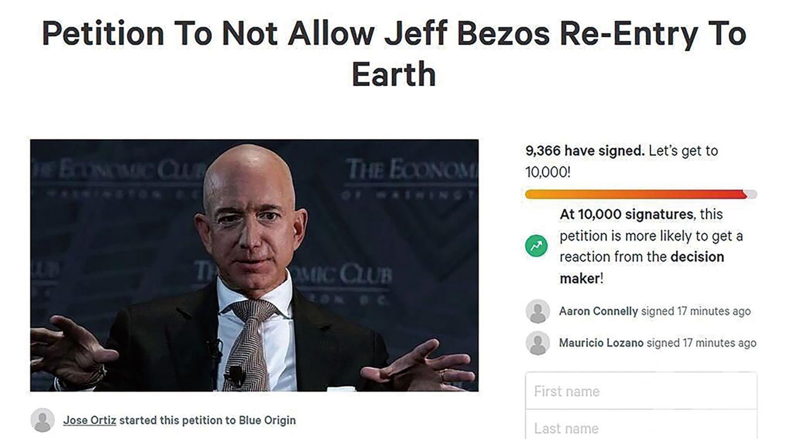 近萬網民請願:別回來了