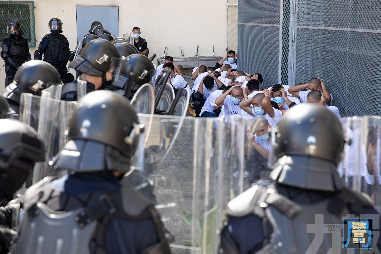 模擬監獄暴動 有炸彈威脅