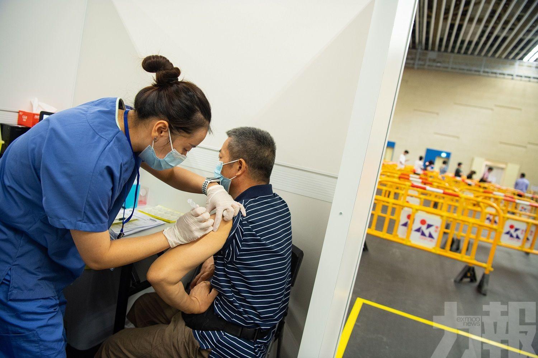 逾26.1萬人已接種新冠疫苗