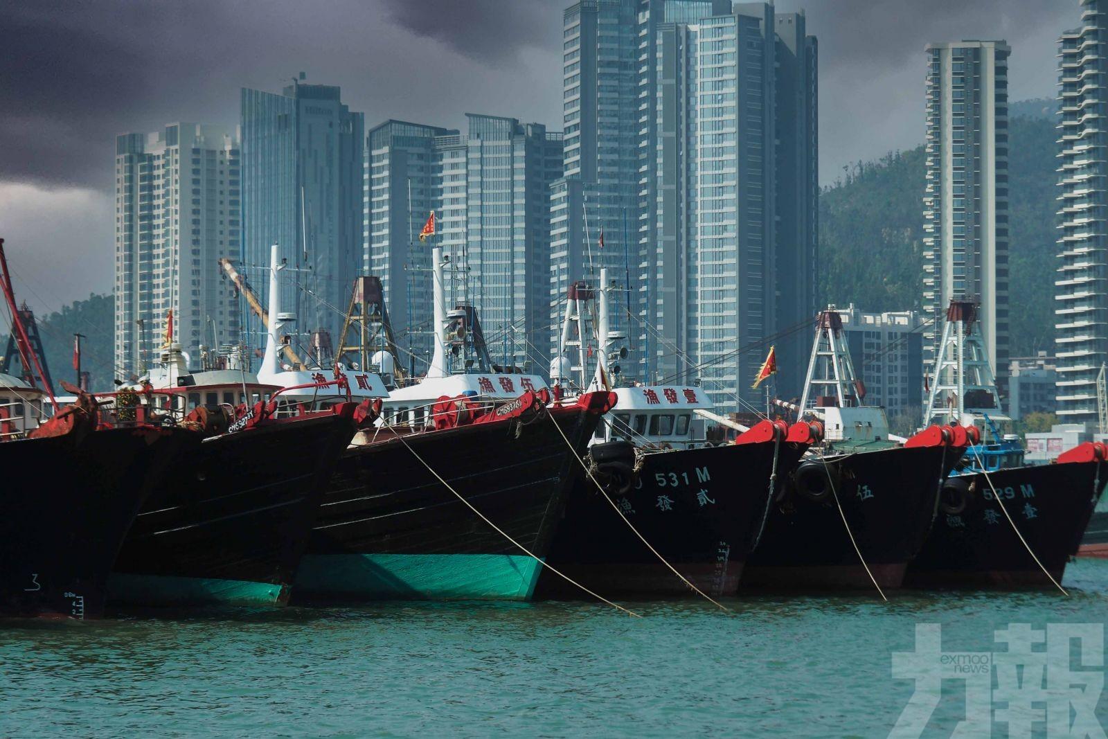 海事局籲業界做好防風準備