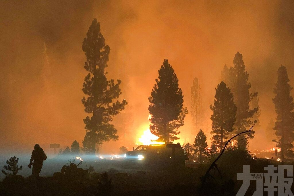 80場山火肆虐美國13州