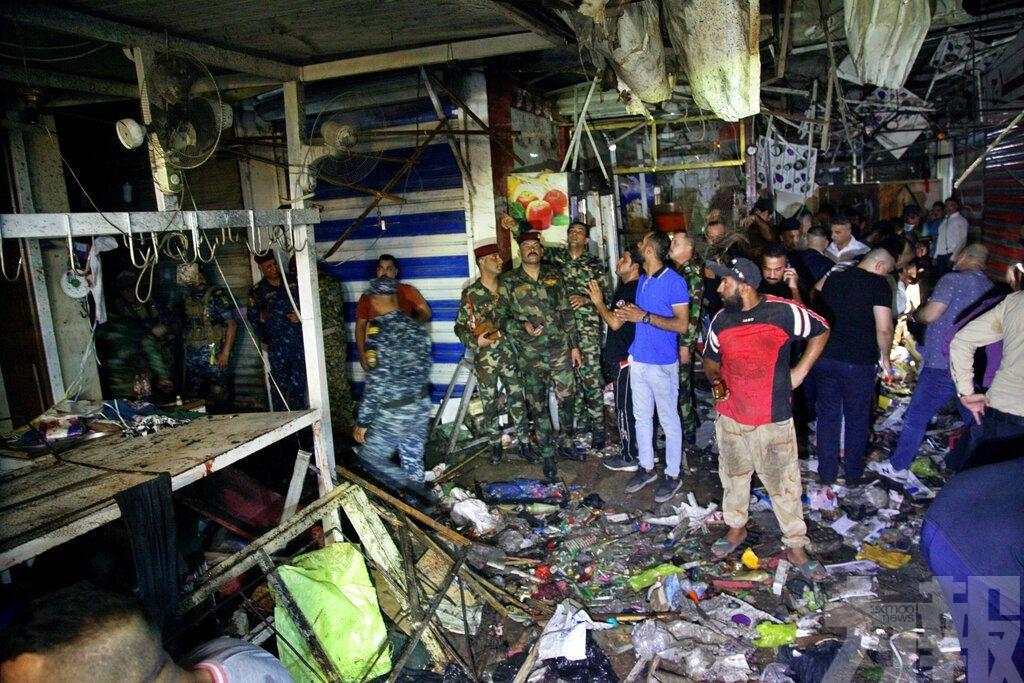 伊拉克首都發生自殺式炸彈襲擊