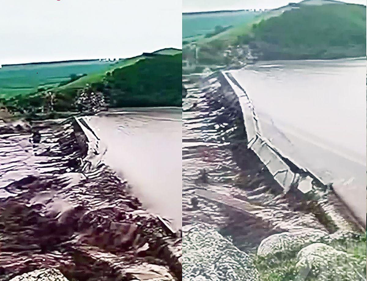 萬餘人受災22座橋樑被毀