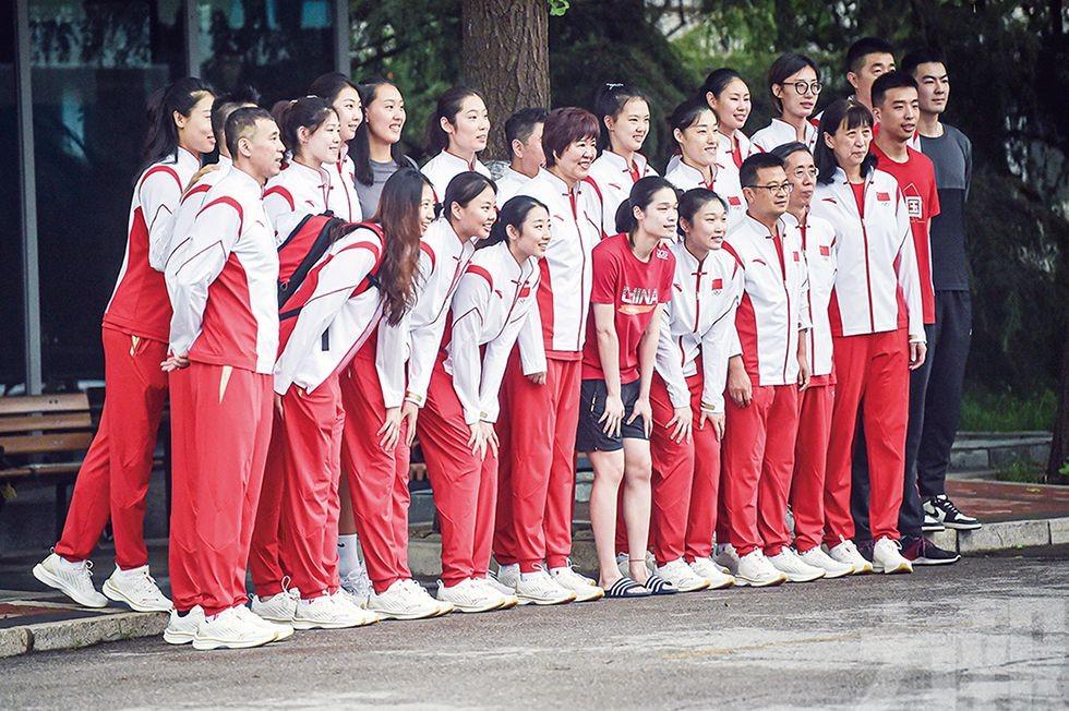中國女排吹響東京出征「集結號」