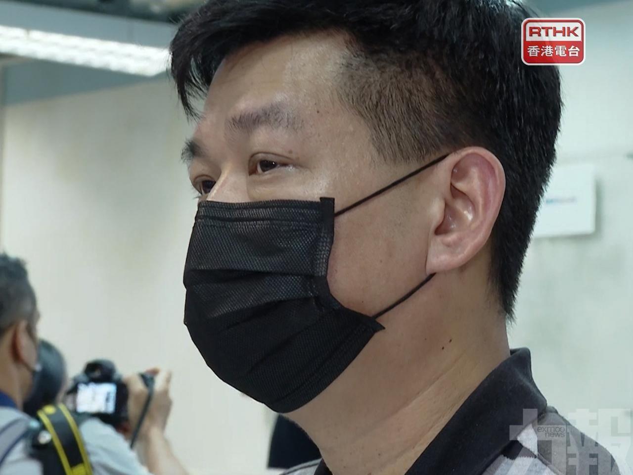 前《蘋果日報》執行總編輯林文宗被捕