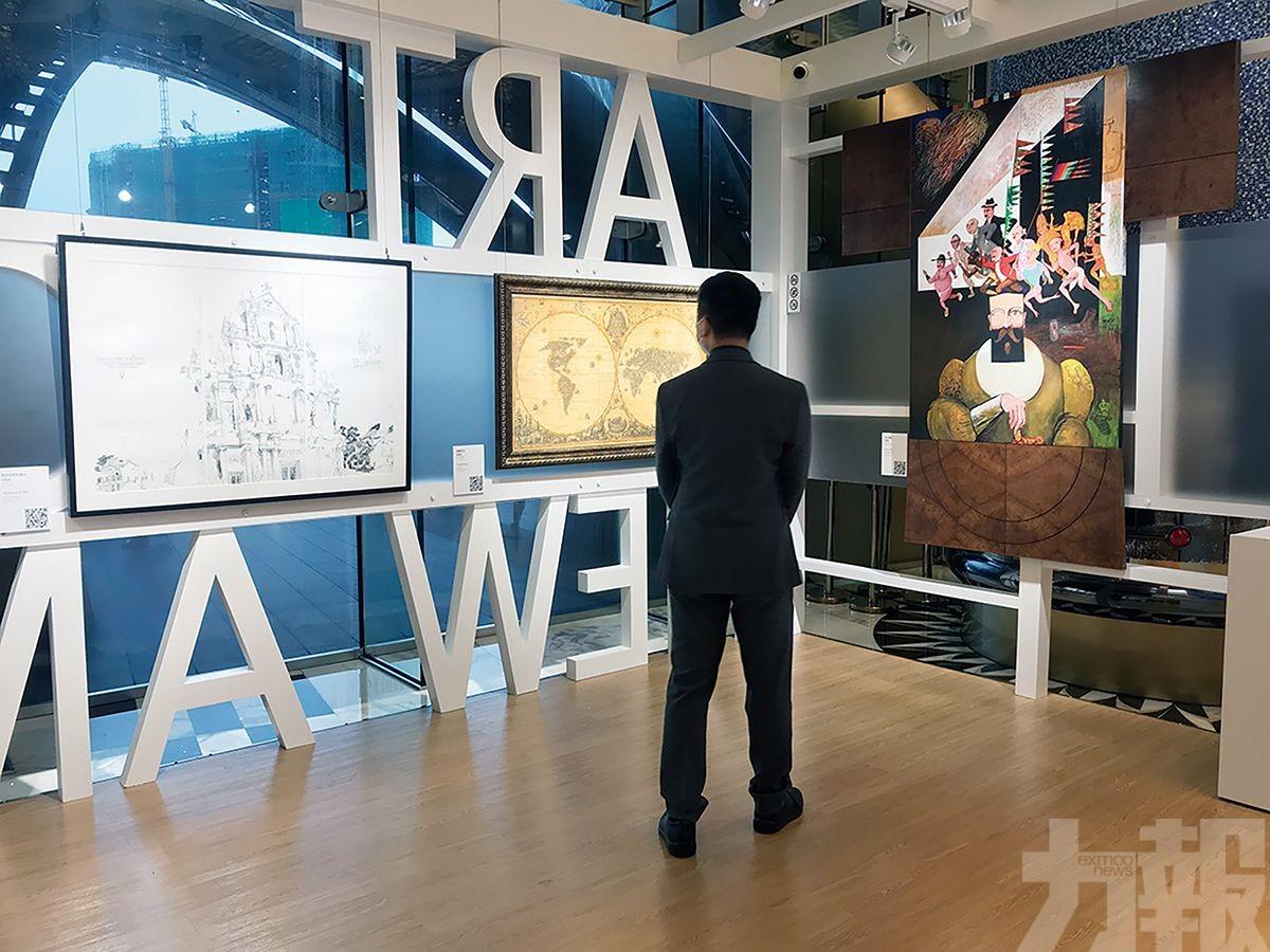 為期四個月展出八位本地藝術家作品