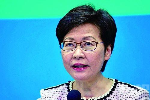 林鄭:非強制措施 公務員仍有選擇權