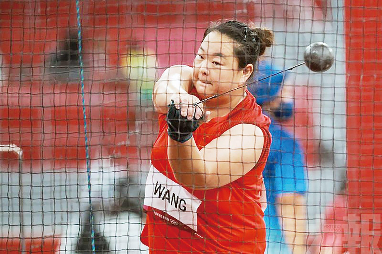 王崢女子鏈球為中國田徑添銀