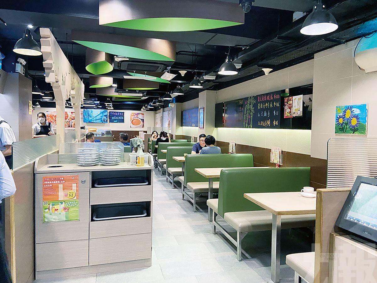 餐廳人流減少生意減半