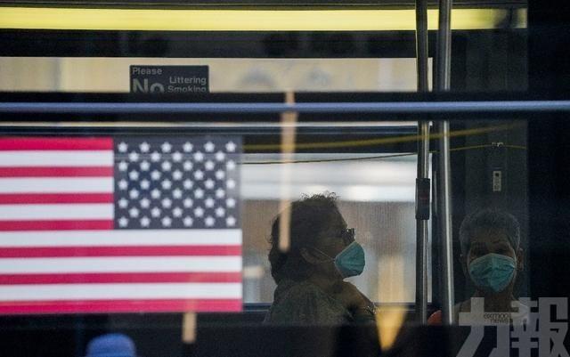 美國住院人數創八個月新高