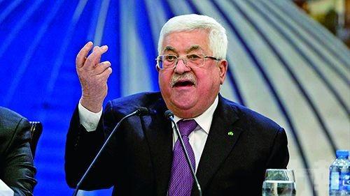 阿巴斯會見以色列防長