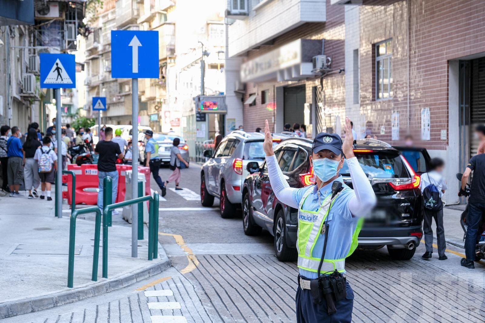 治安警:上午交通及出入境順暢