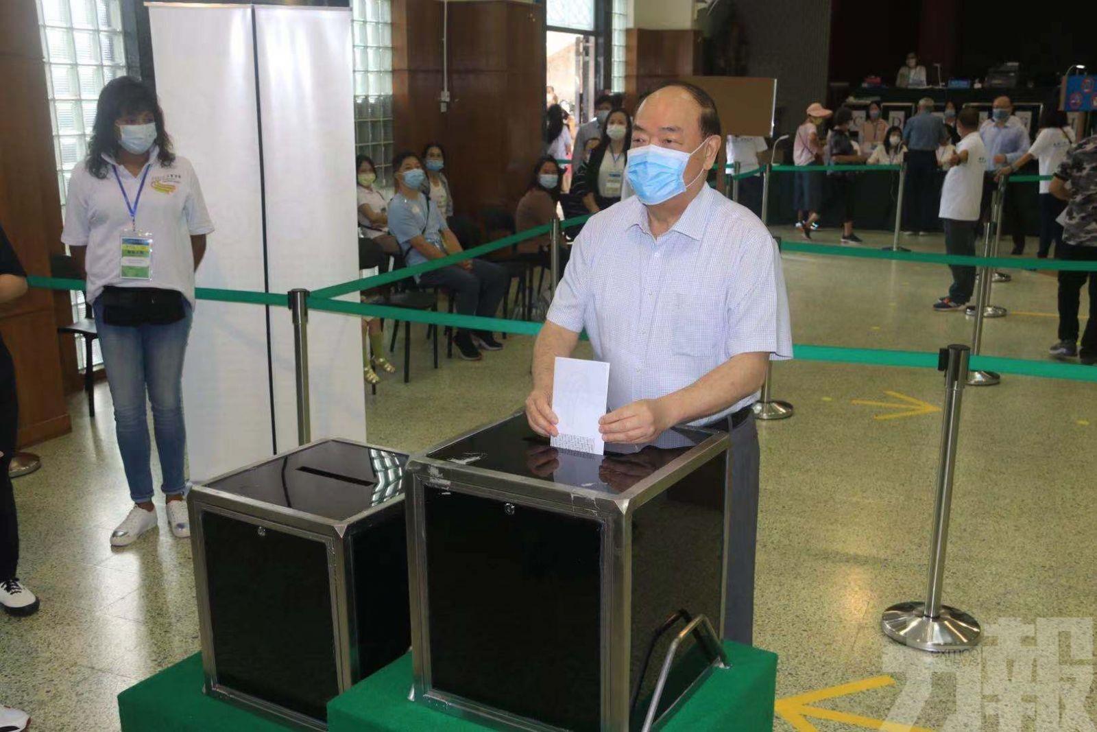 呼籲選民踴躍投票 履行公民責任