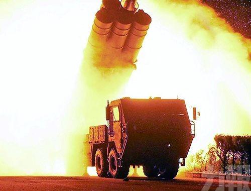 朝成功試射新型遠程巡航導彈