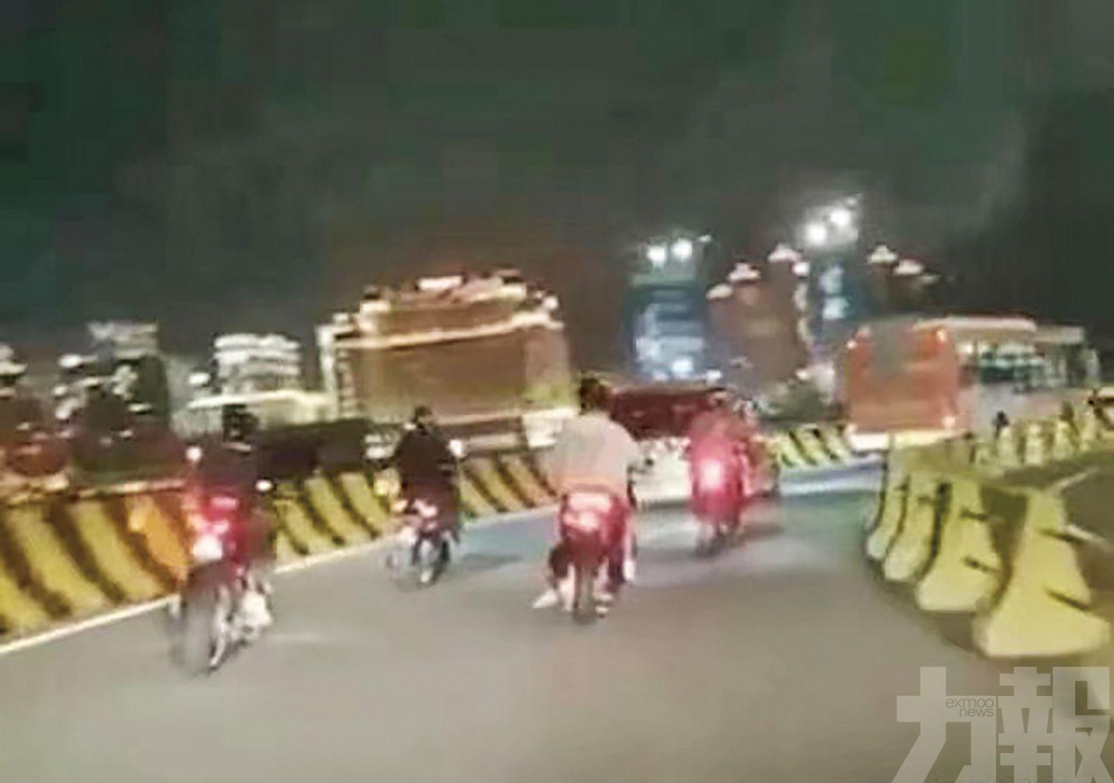 未具資格車輛駛蓮花大橋可被罰