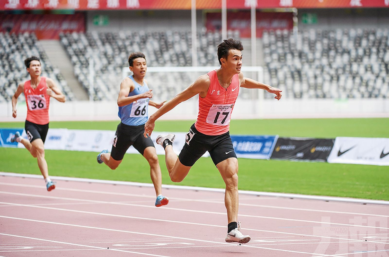 全運史上最強百米對決將上演