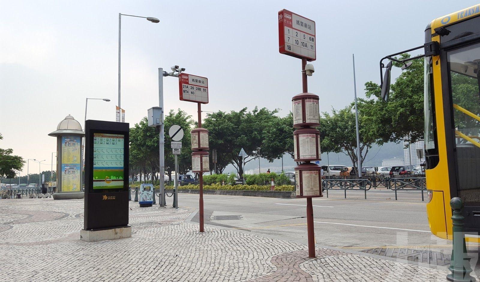 本周六凌晨時段巴士報站暫停