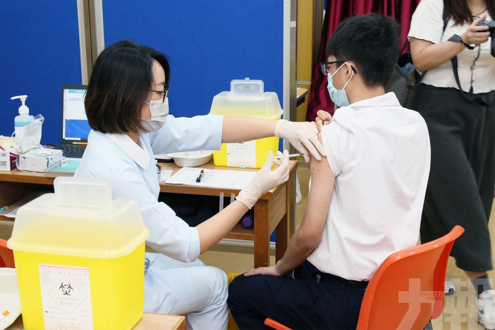 12至19歲人士接種率升至27%