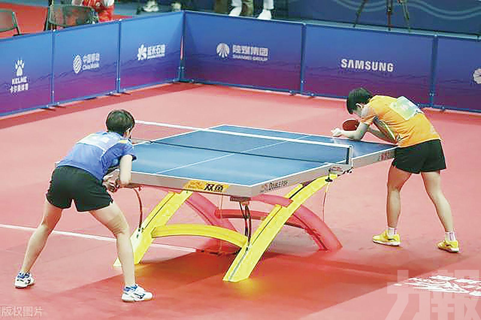 王曼昱摘全運會女單金牌