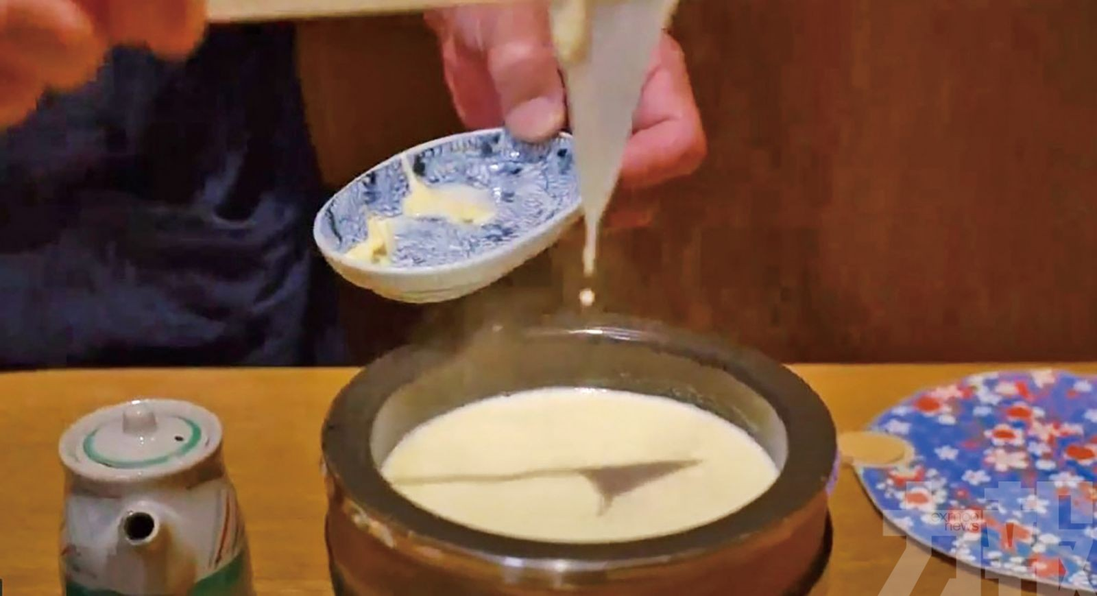 吳業坤日本「食好西」惹人羨