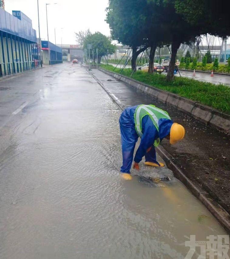持續監察雨水泵房運作