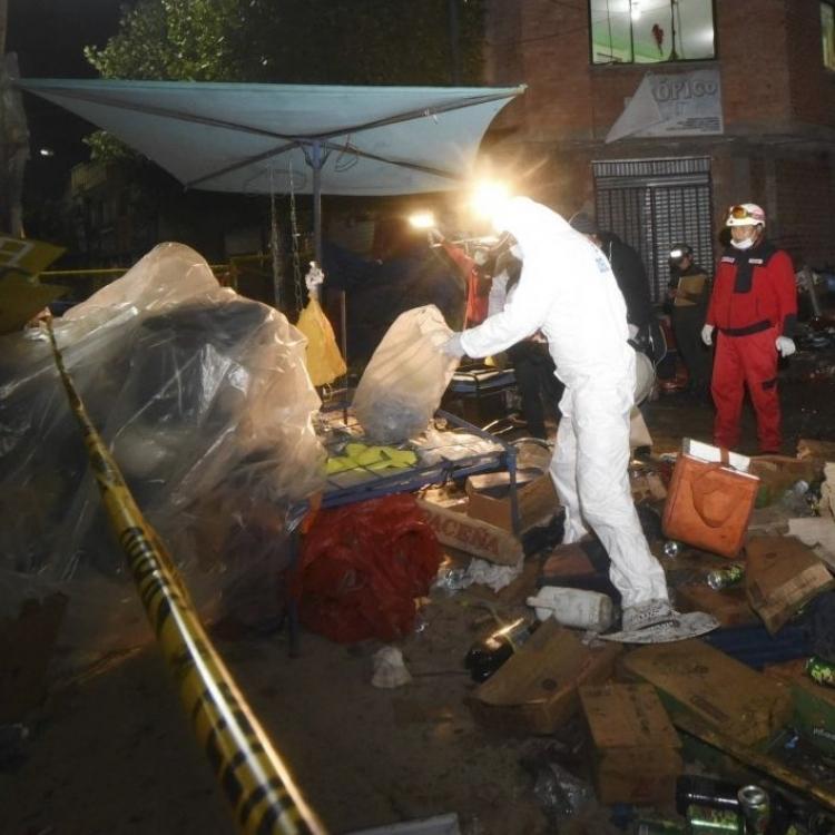 玻利維亞嘉年華爆炸八死40傷