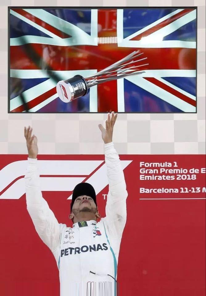 黑帝F1西班牙站稱霸
