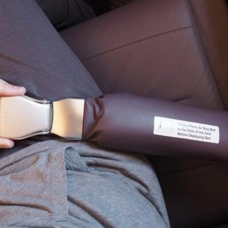 禁坐泰航夢幻客機商務艙