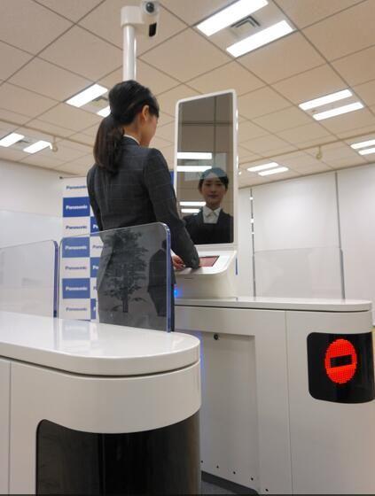 日本機場推人臉識別技術