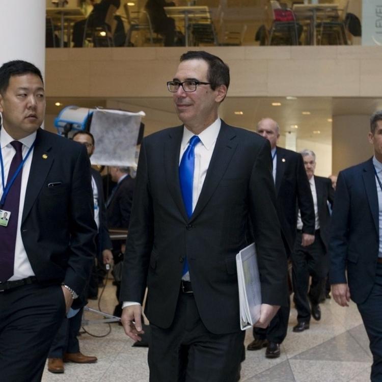 美財長或訪華商中美貿易紛爭
