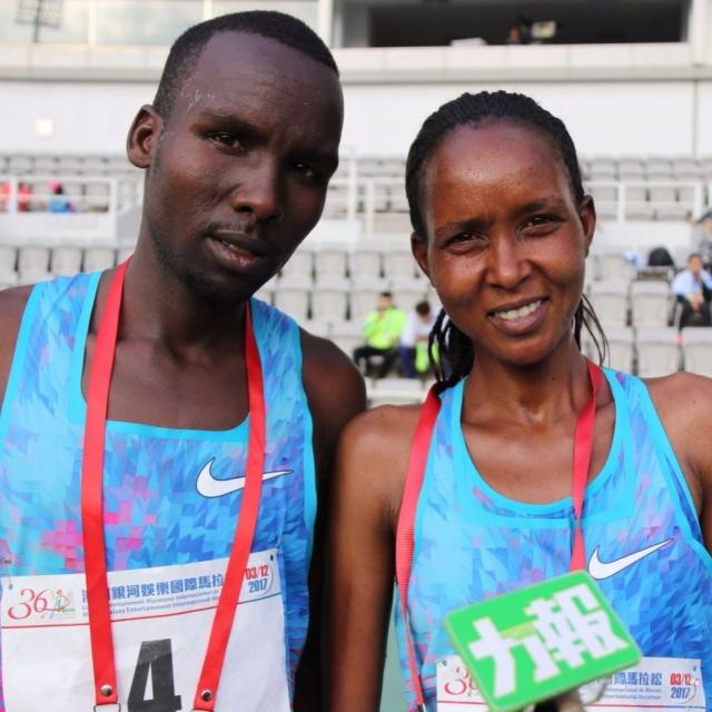 肯亞巴林跑手勇奪全馬男女冠軍