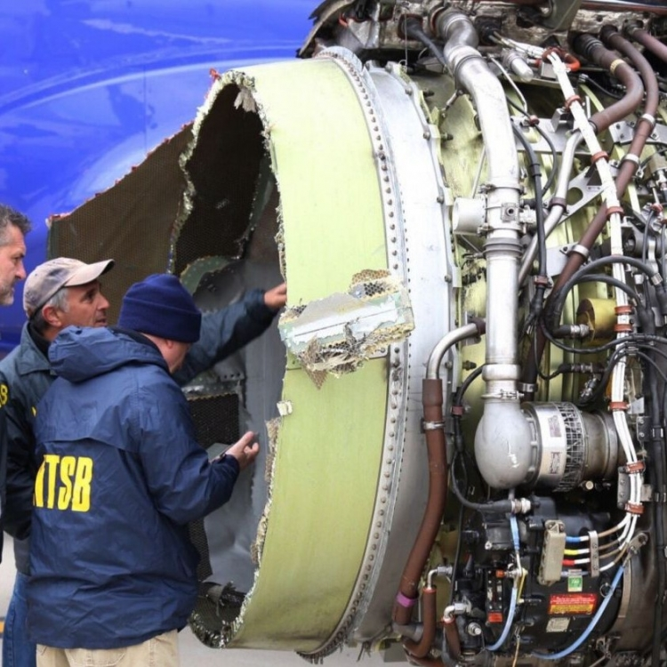 航空局下令查所有同款引擎
