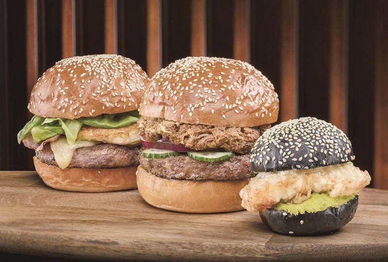 滋味漢堡全球集合