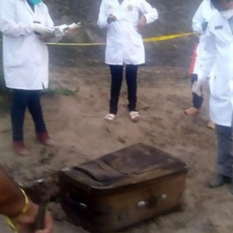 現場行李箱內藏少女焦屍