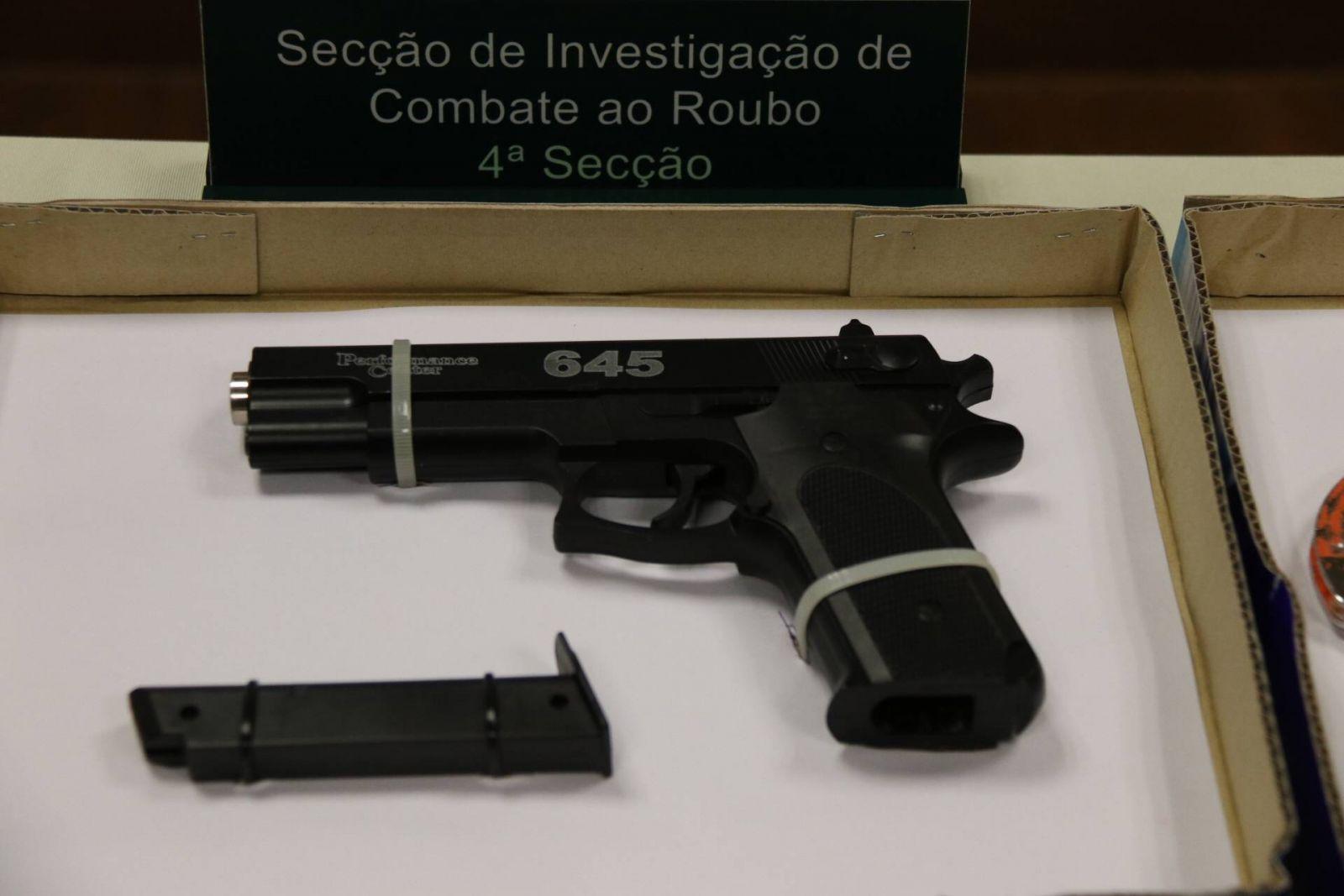 用「BB彈槍」搶劫反被擒
