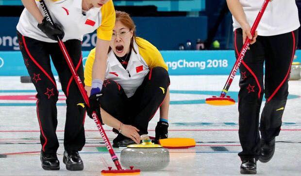 中國女子冰壺隊無緣入四強