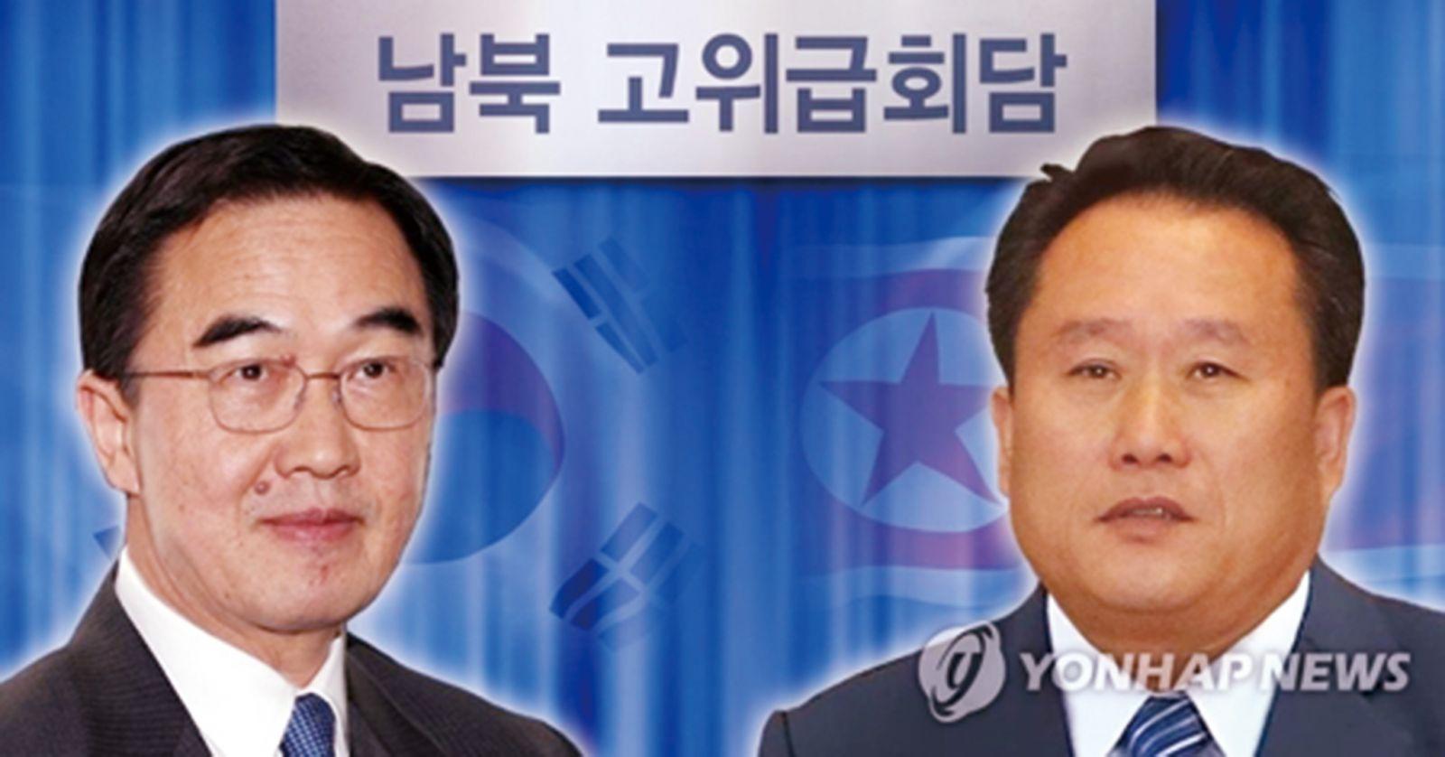 韓朝將商雙邊關係