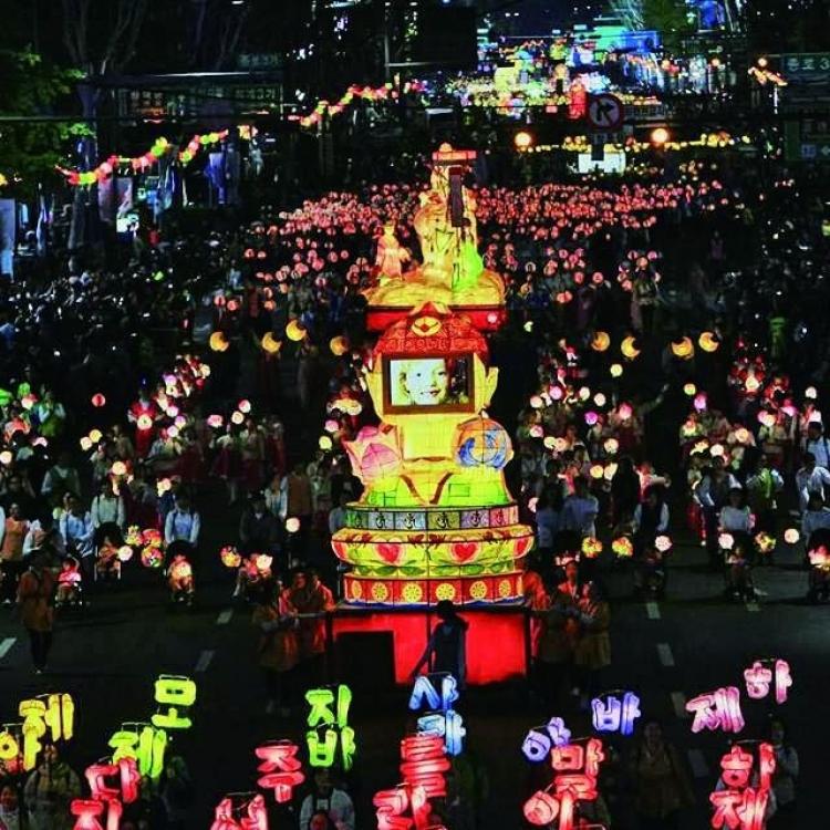 燃燈慶典登陸首爾