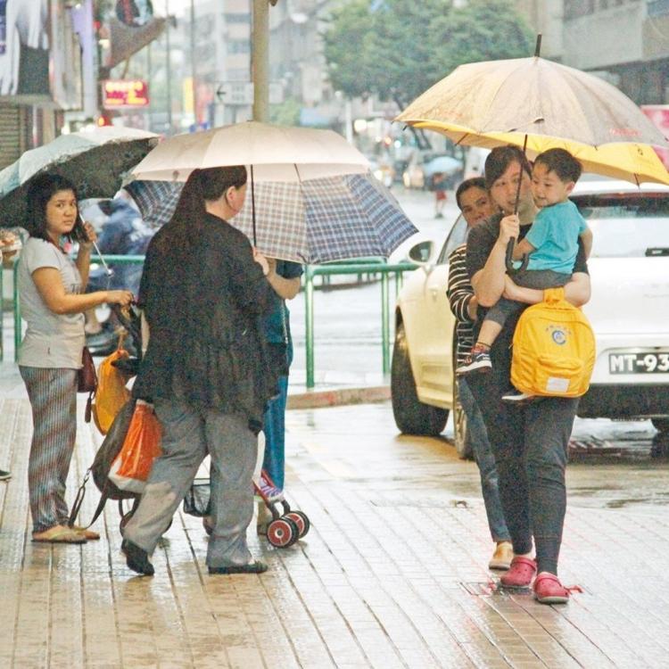 本月11日暴雨停課通報演習