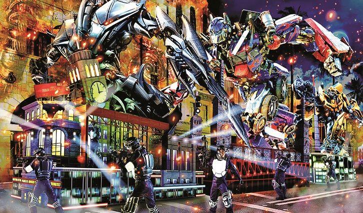 日本環球奇觀巡遊夜