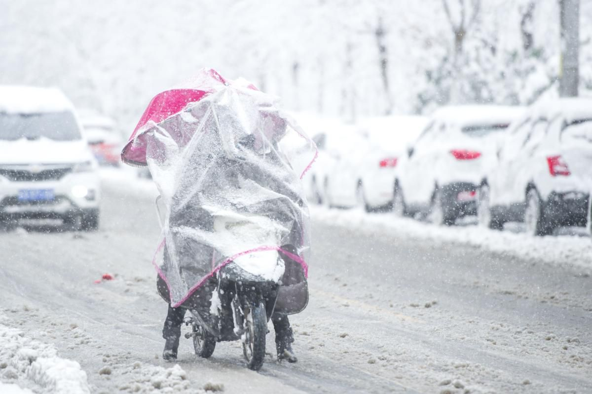 內地中東部今起大範圍雨雪