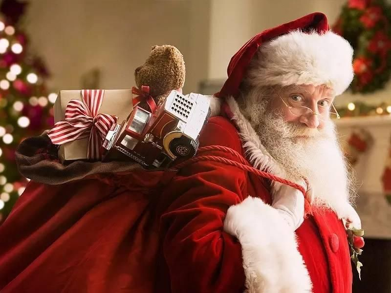 指「聖誕老人生活空虛」